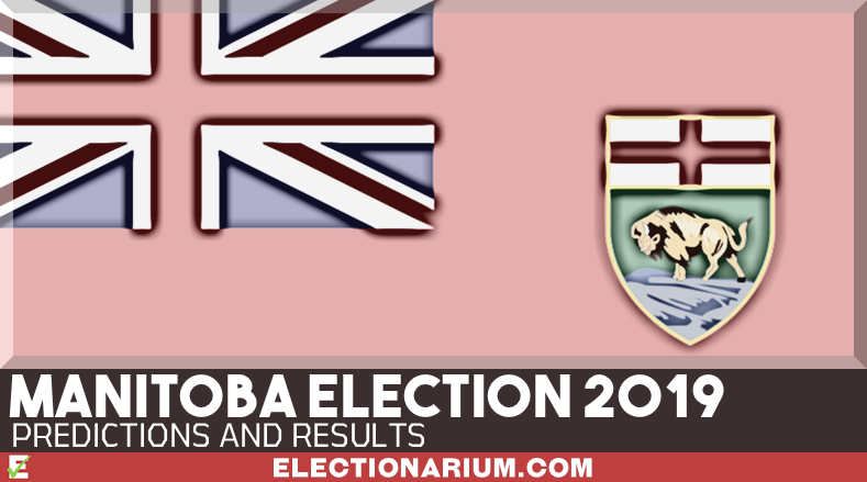 2019 Manitoba Provincial Election Results